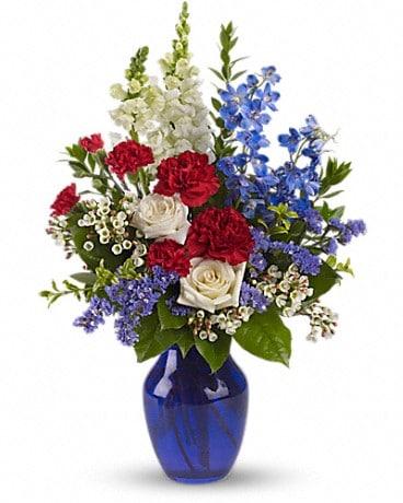 Sea to Shining Sea Bouquet Bouquet