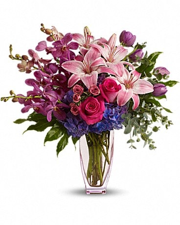 Teleflora's Purple Perfection Bouquet