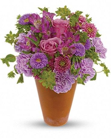 French Garden Bouquet Flower Arrangement