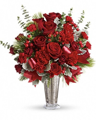Teleflora's Holiday Touches Bouquet Bouquet