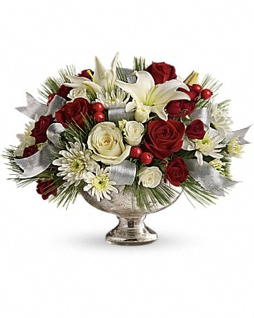 Teleflora's Season's Finest Centerpiece Bouquet