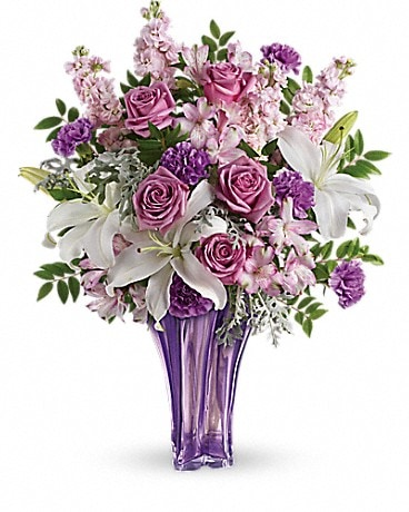 Teleflora's Lavished In Lilies Bouquet Bouquet