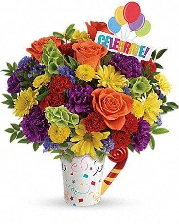 Teleflora's Celebrate You Bouquet Bouquet