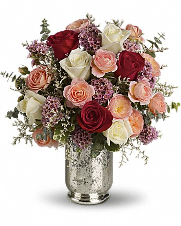 Teleflora's Always Yours Bouquet Flower Arrangement