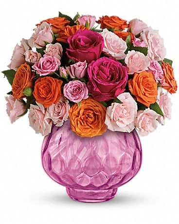 Teleflora's Sweet Fire Bouquet with Roses Bouquet