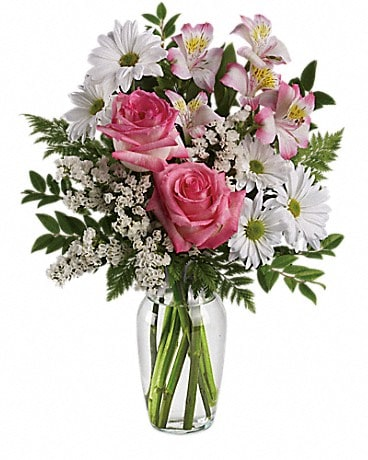 What a Treat Bouquet with Roses Bouquet