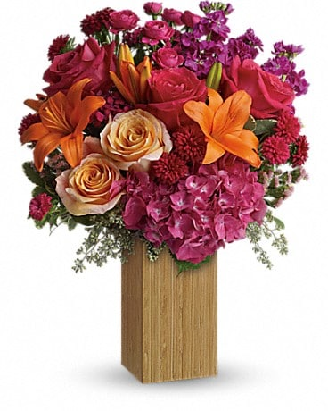 Teleflora's Fuchsia Fantasy Bouquet