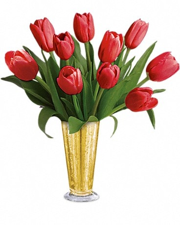Tempt Me Tulips Bouquet by Teleflora Bouquet
