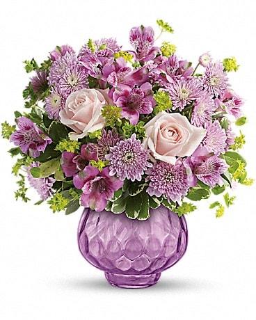 Teleflora's Lavender Chiffon Bouquet Bouquet