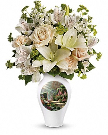 Thomas Kinkade's Radiant Garden by Teleflora  Bouquet