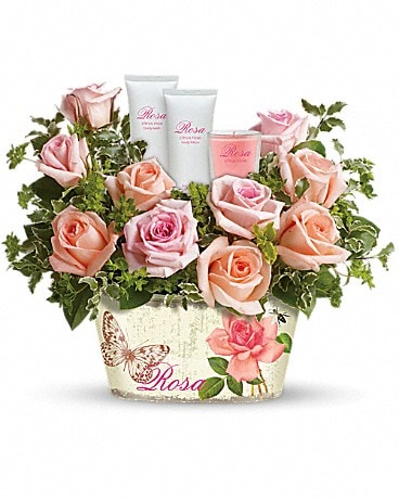 Teleflora's Rosy Delights Gift Bouquet Flower Arrangement