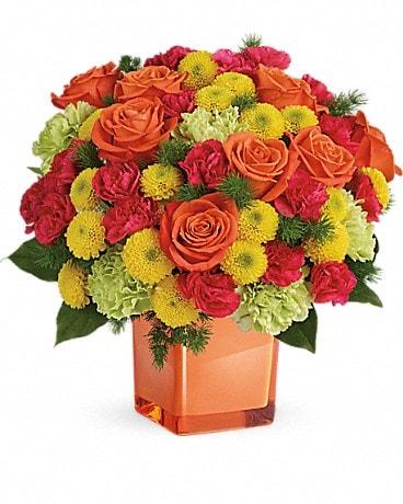 Teleflora S Citrus Smiles Bouquet
