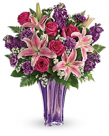 Teleflora's Luxurious Lavender Bouquet Bouquet