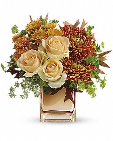 Teleflora's Autumn Romance Bouquet Flower Arrangement
