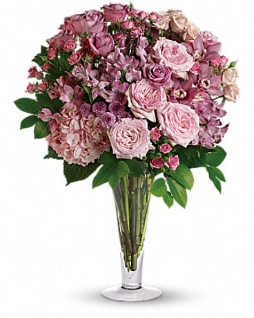 A La Mode Bouquet with Long Stemmed Roses Bouquet