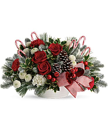 Jolly Candy Cane Bouquet Bouquet