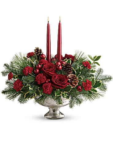 Teleflora's Shining Bright Centerpiece Bouquet