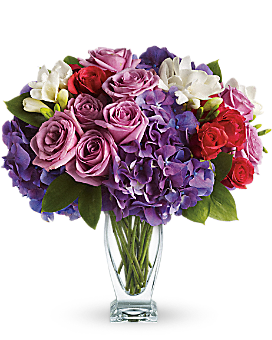 Teleflora's Rhapsody in Purple - Bouquet