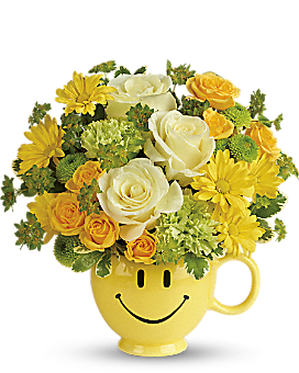 Teleflora's You Make Me Smile Bouquet - Bouquet
