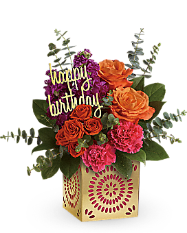 Teleflora's Birthday Sparkle Bouquet - Bouquet