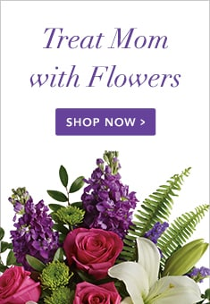 Treat Mom with a flower arrangement