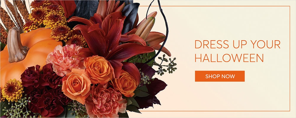 Halloween Flowers Delivery