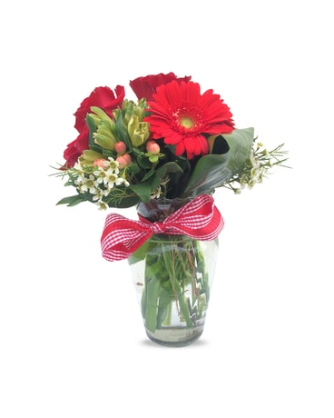 Buer's Red Hot Mama Bouquet
