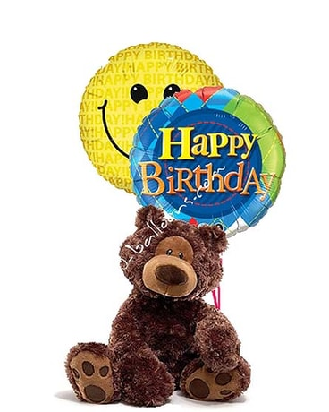Medium Happy Birthday Bear