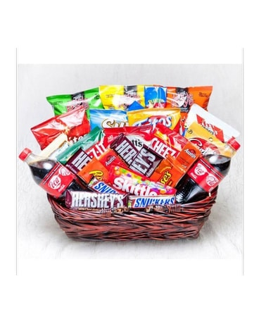 Jumbo Candy & Snack Basket