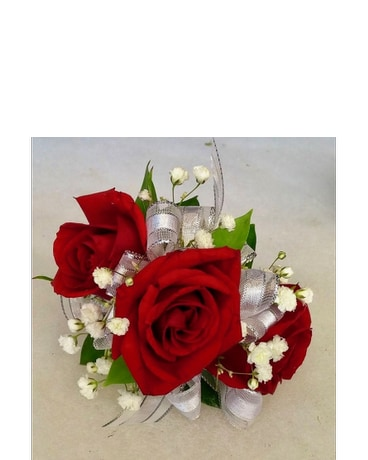 Red Rose Corsage