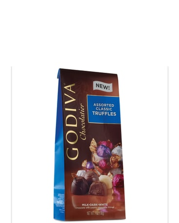 Godiva Wrapped Assorted Classic Trufles