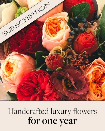Bouquet of the Month Club (12) Flower Arrangement
