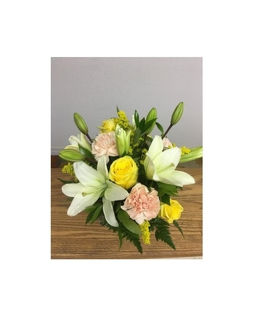 Lily Laughter Flower Arrangement
