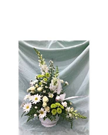 Peaceful Dove Bouquet Flower Arrangement