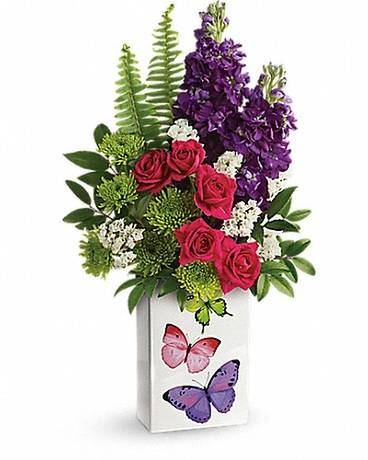 Teleflora's Flight Of Fancy Bouquet Flower Arrangement