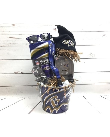 Ravens Superfan Gift Basket