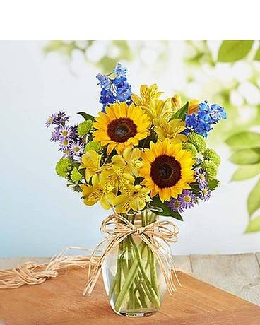 Fields of Europe for Summer Flower Arrangement