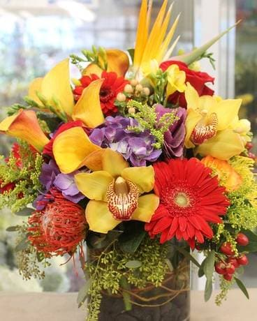 ULTIMATE AUTUMN Flower Arrangement
