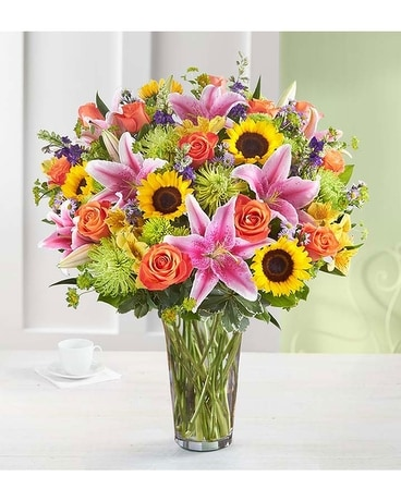 Birthday Fanfare Flower Arrangement
