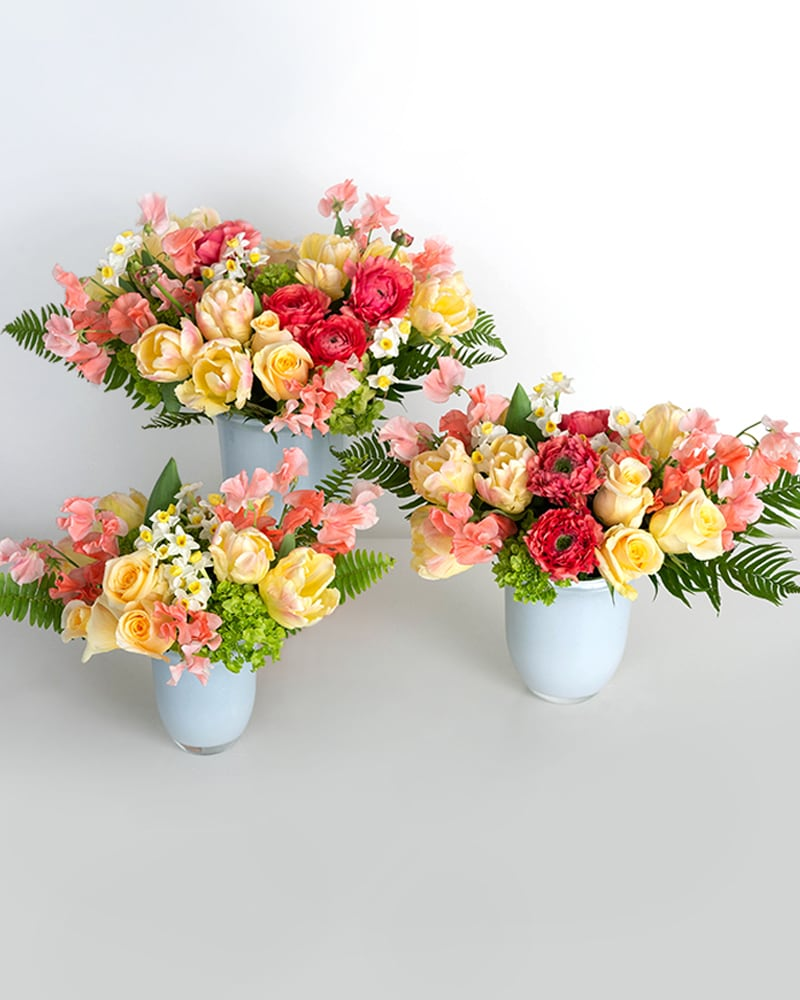 Apricot Classic Collection Flower Arrangement