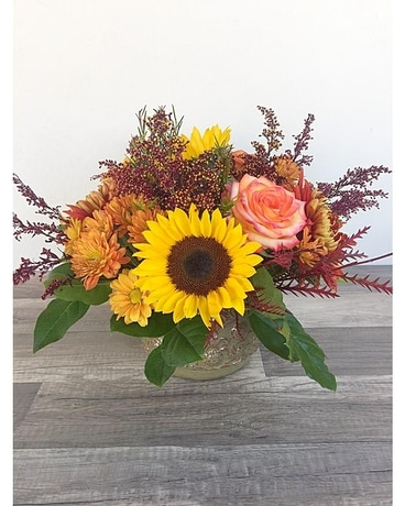 Fall Bounty Flower Arrangement