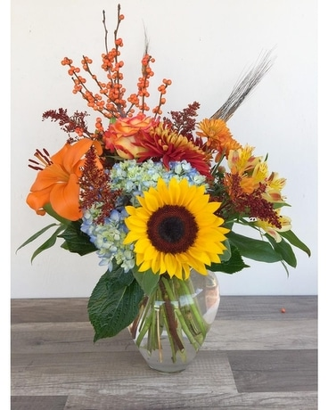Harvest Days Flower Arrangement