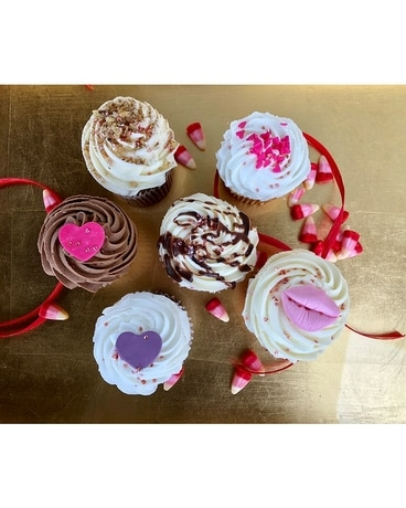 Assorted Gourmet Cupcakes Gifts