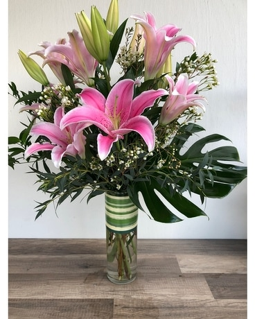 Sweet Stargazers Flower Arrangement