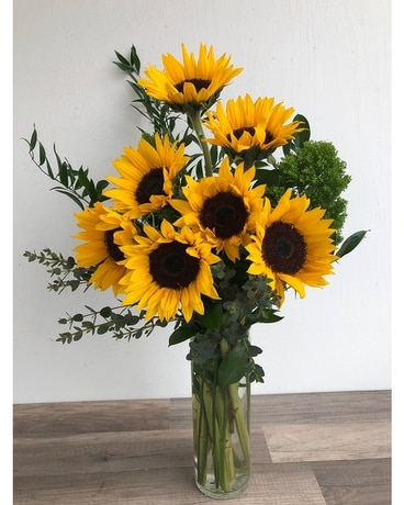 Sunflower Fields Flower Arrangement