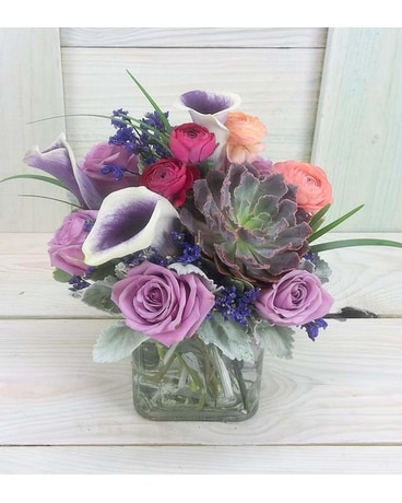 Royal Hues Flower Arrangement
