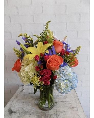 Market Garden Flower Arrangement