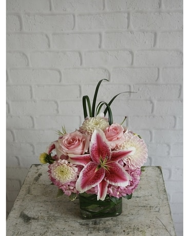 Ombre Blooms Flower Arrangement