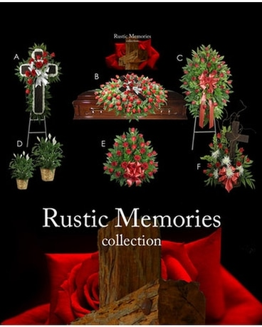Rustic Memories Collection Funeral Arrangement