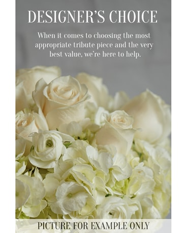 Sympathy Designers Choice Funeral Arrangement